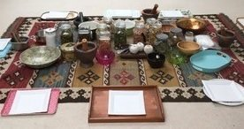 The story of preparations for a Thai Herbal Compress Workshop