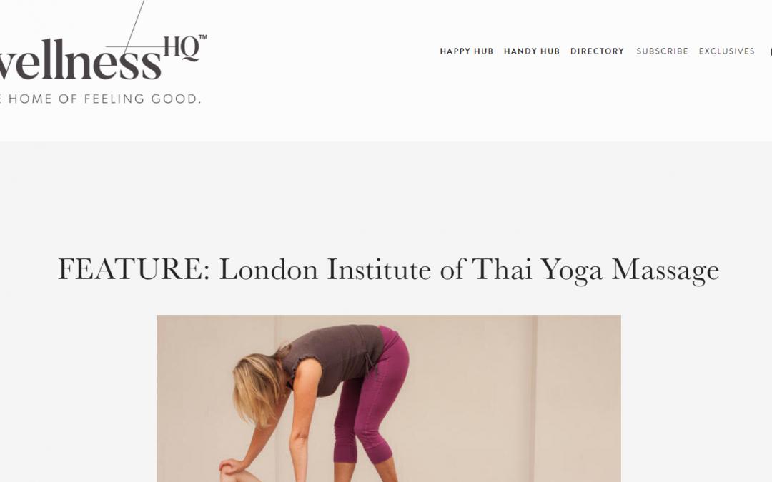 FEATURE: London Institute of Thai Yoga Massage